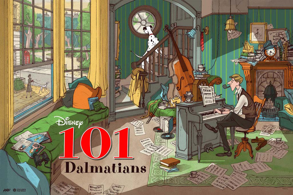 One Hundred And One Dalmatians (the) by Walt Disney