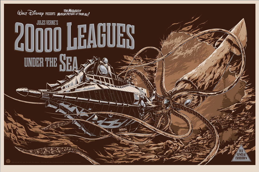 20.000 Leagues Under The Sea - Variant par Richard Fleischer