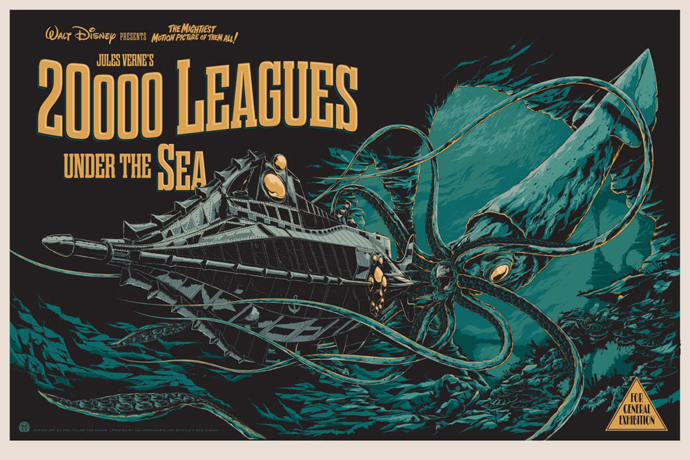 20.000 Leagues Under The Sea - Regular par Richard Fleischer