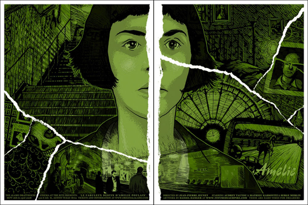 Amelie - Regular (set Of 2 Prints) par Jean Pierre Jeunet