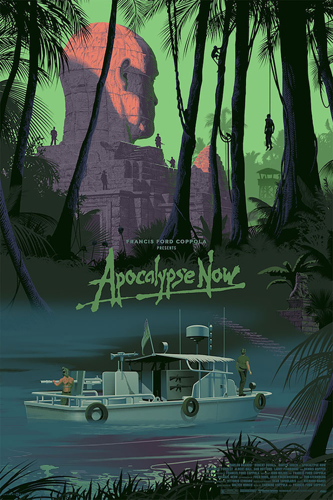 Apocalypse Now - Jungle - Variant by Francis Ford Coppola (24 x 36 in)