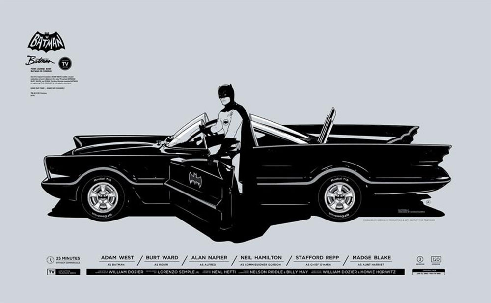 Batman - Batmobile par Leslie Martinson