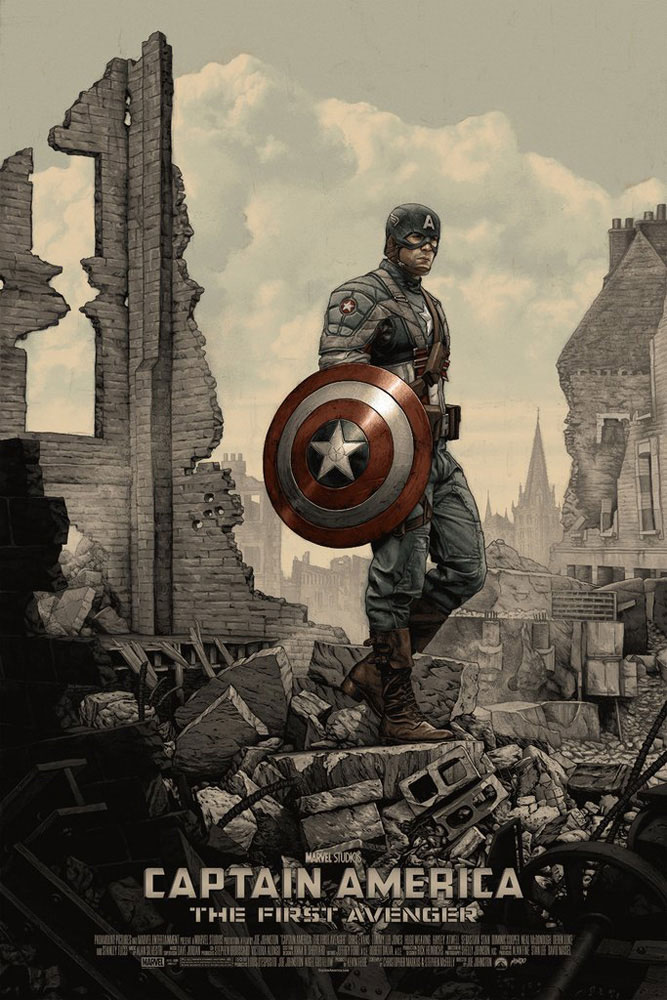 Captain America : The First Avenger by Joe Johnston