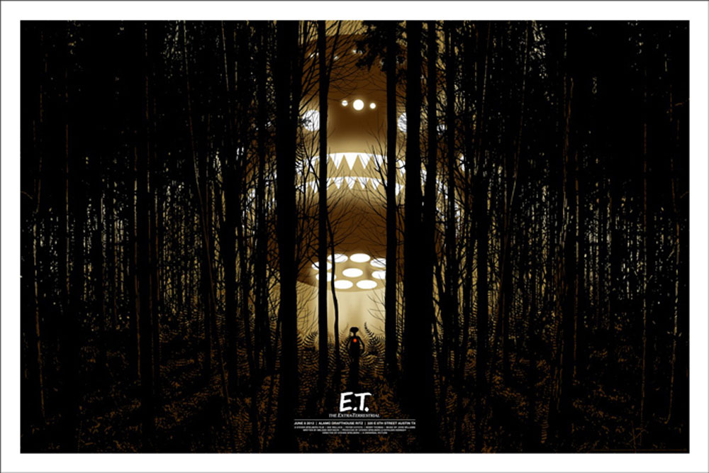 Et The Extraterrestrial - Variant by Steven Spielberg (24 x 36 in)