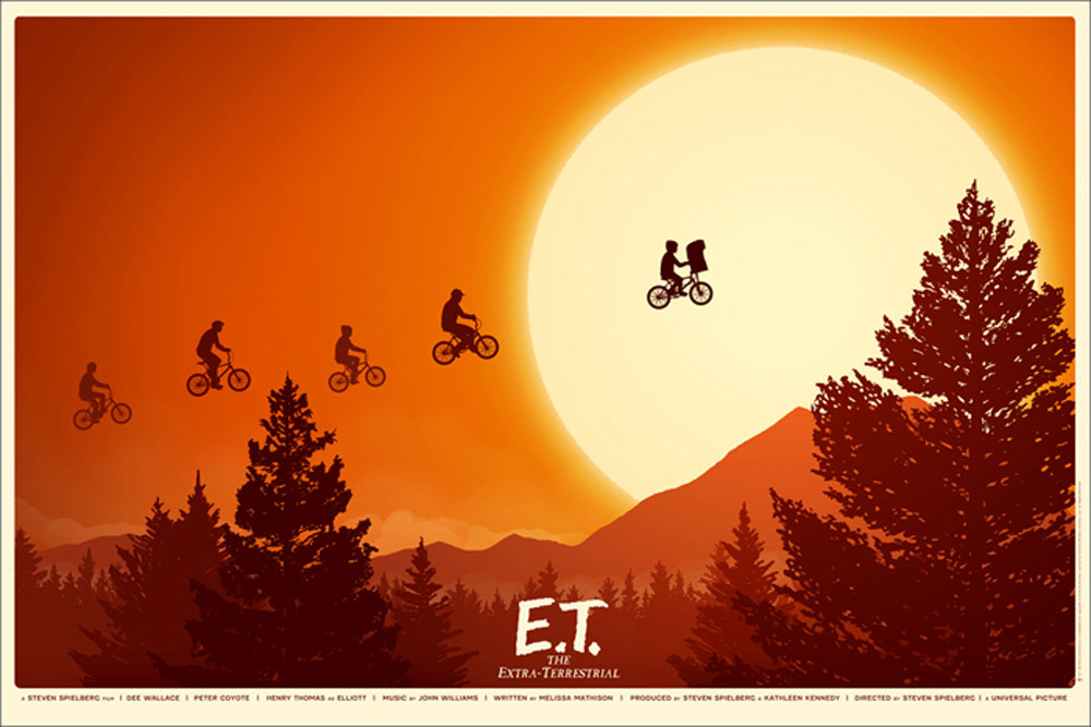Et The Extraterrestrial by Steven Spielberg (24 x 36 in)