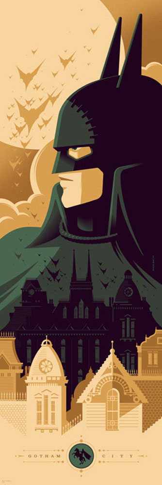 Batman - Gotham By Gaslight par - (30 x 91 cm)