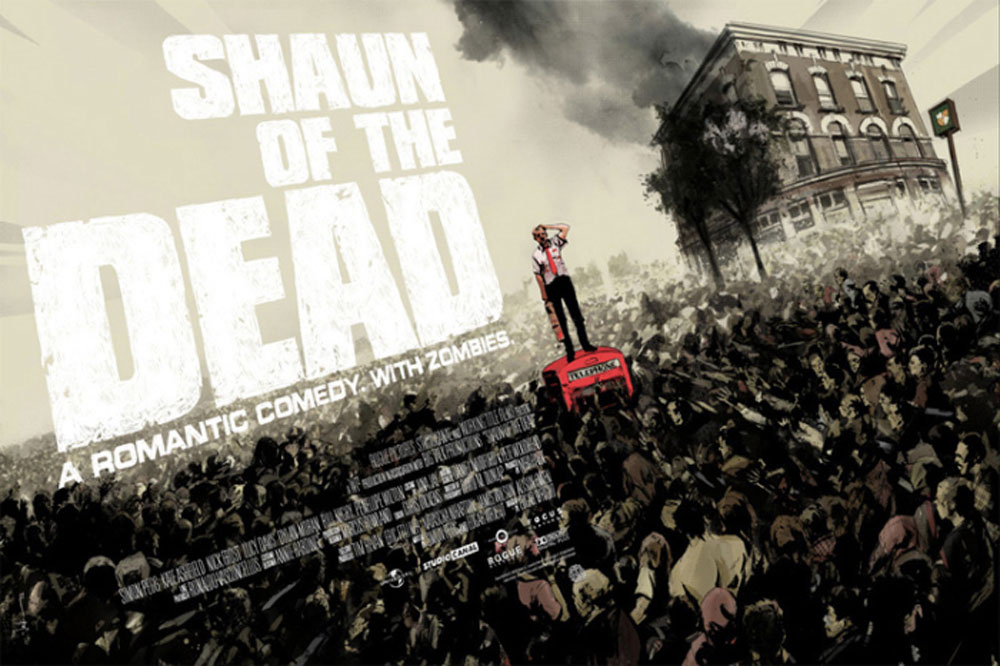 Shaun Of The Dead - Regular par Edgar Wright (61 x 91 cm)