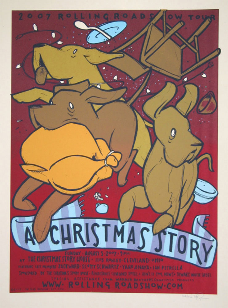 A Christmas Story by Bob Clark (18 x 24 in)