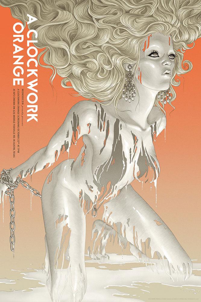 A Clockwork Orange - Variant par Stanley Kubrick