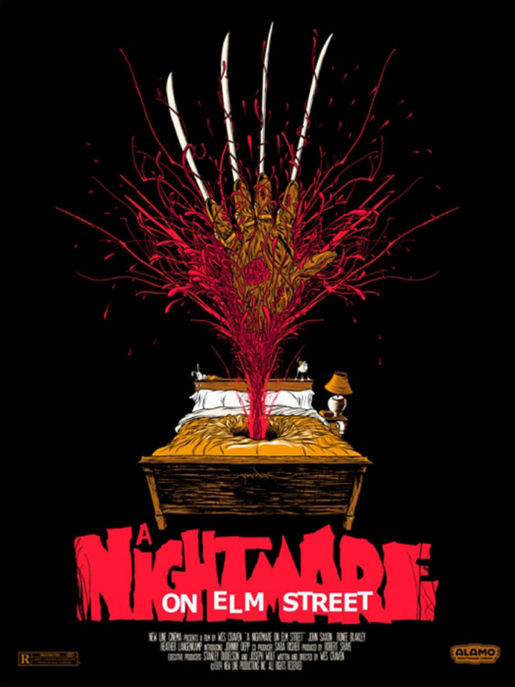 A Nightmare On Elmstreet by Wes Craven (18 x 24 in)