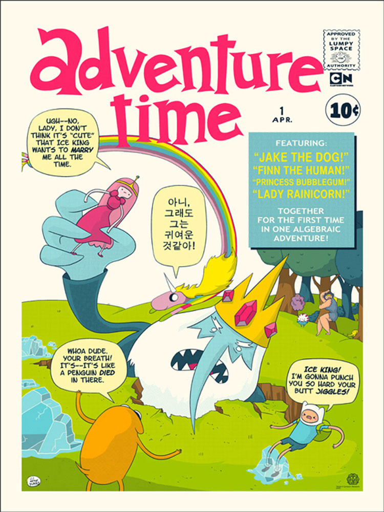 Adventure Time par Larry Leichiter