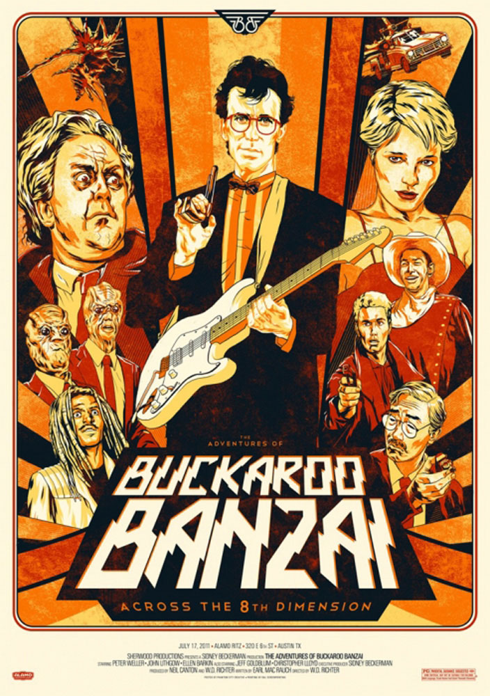 Adventures Of Buckaroo Banzai (the) by Walter Richter (24 x 36 in)