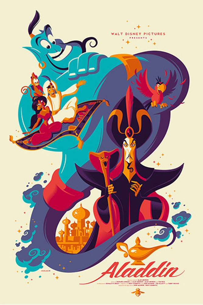 Aladdin by Walt Disney (24 x 36 in)