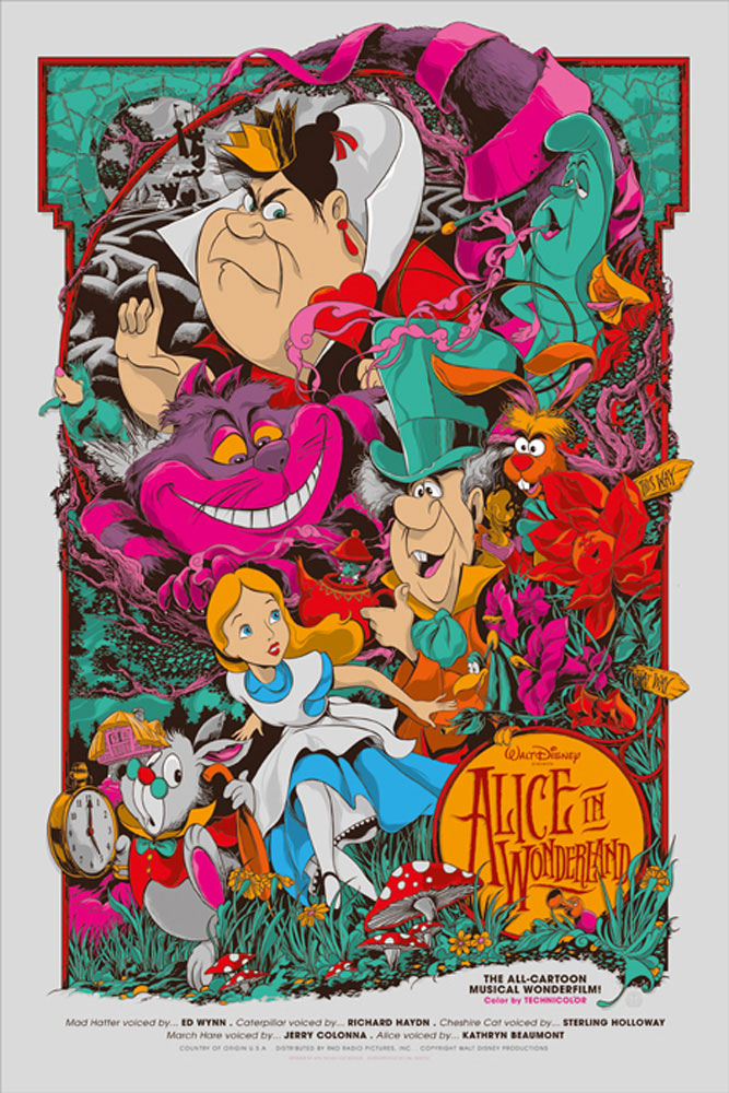 Alice In Wonderland par Walt Disney