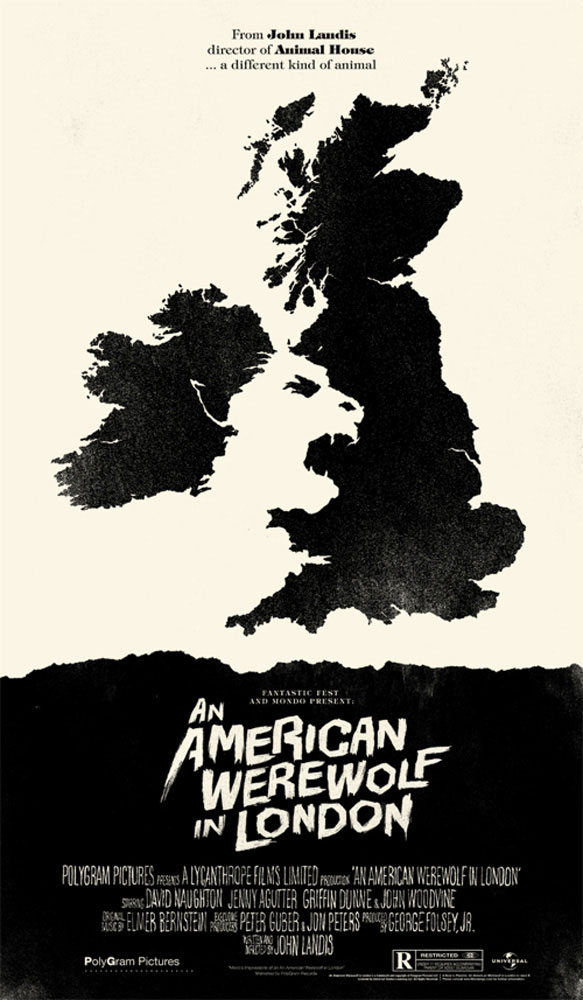 An American Werewolf In London - Variant by John Landis