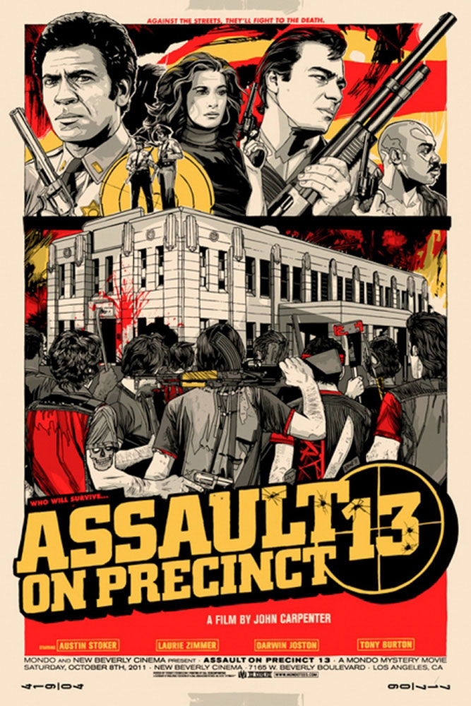 Assault On Precinct 13 par John Carpenter (61 x 91 cm)