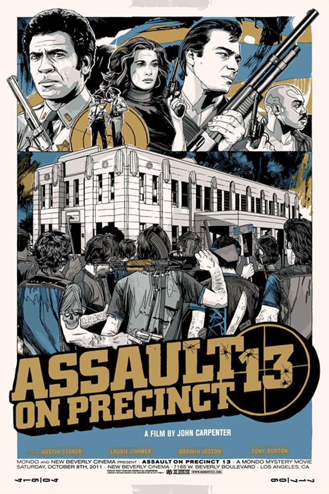 Assault On Precinct 13 - Variant by John Carpenter