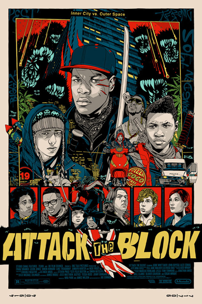 Attack The Block par Joe Cornish (61 x 91 cm)