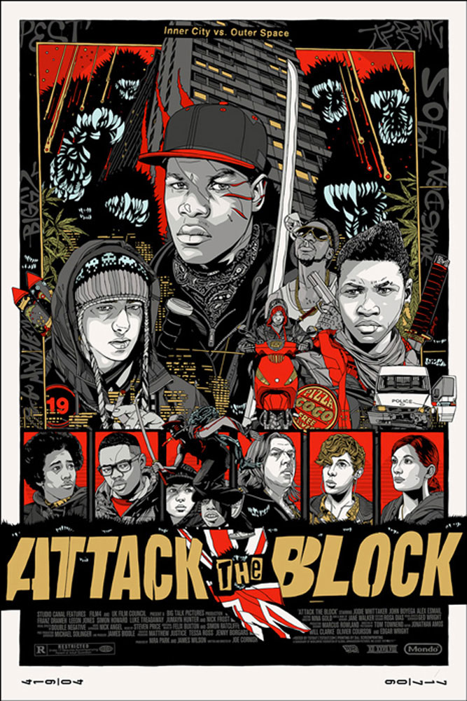 Attack The Block - Variant par Joe Cornish