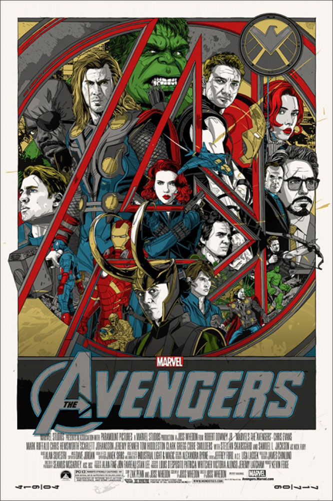 Avengers (the) by Joss Whedon (24 x 36 in)