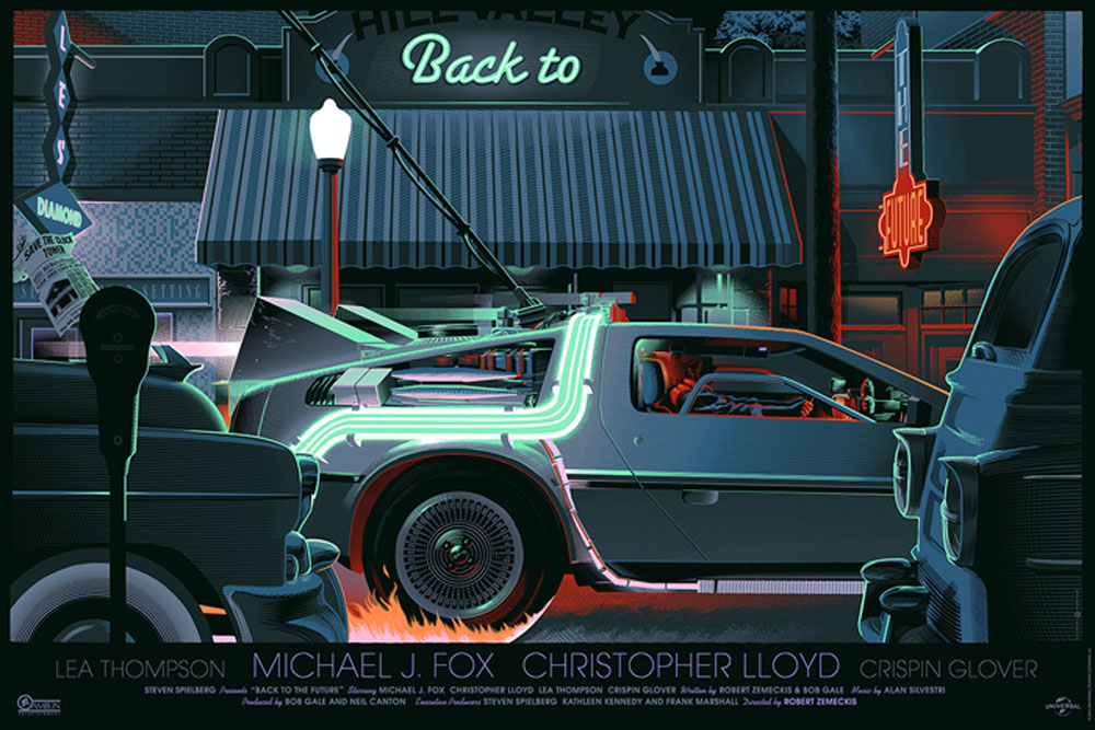 Back To The Future I - Variant by Robert Zemeckis