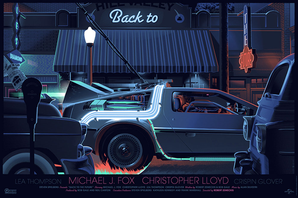 Back To The Future I - Regular by Robert Zemeckis (24 x 36 in)