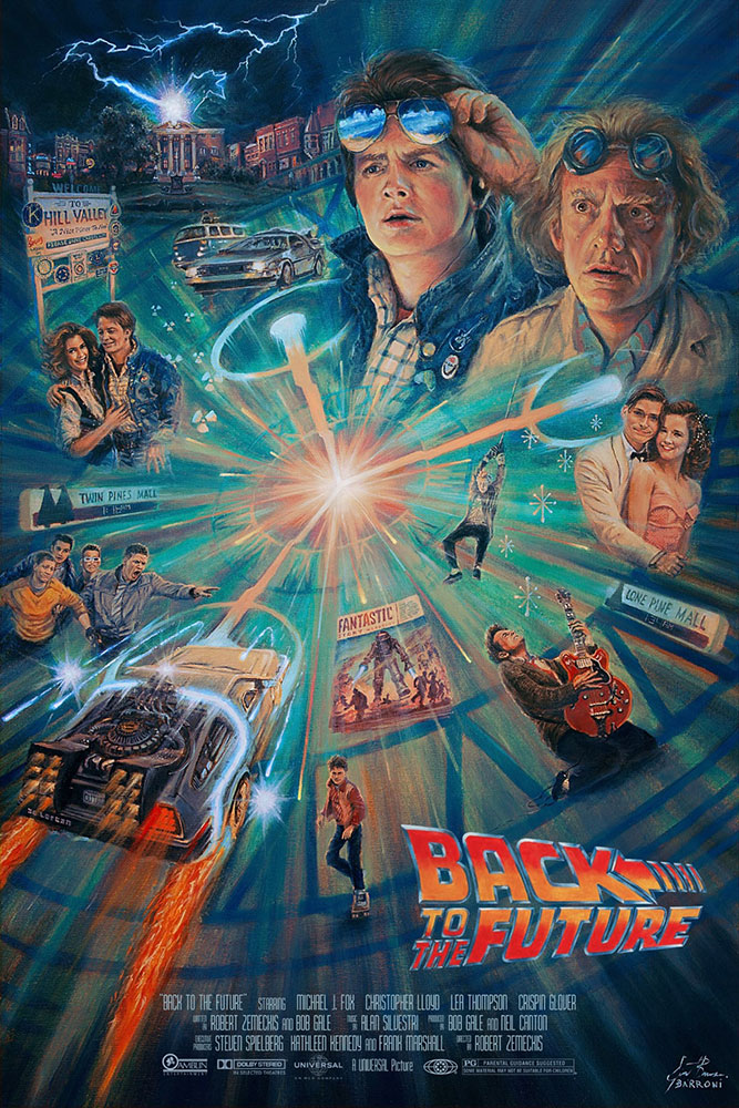 Back To The Future par Robert Zemeckis