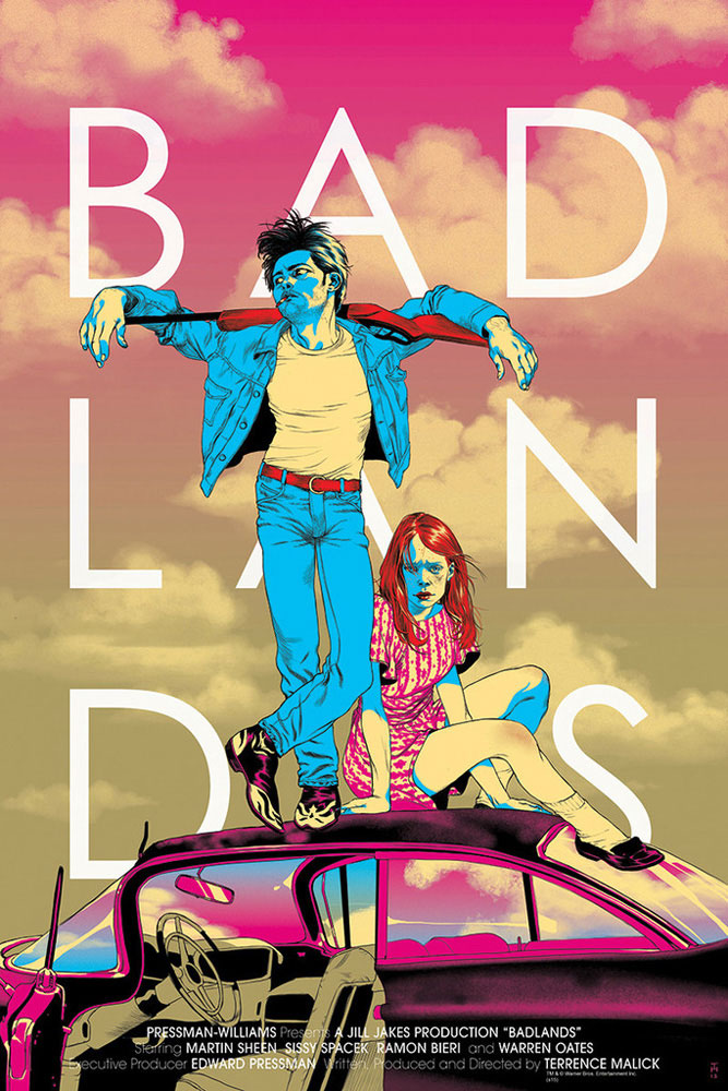 Badlands - Variant by Terence Malick