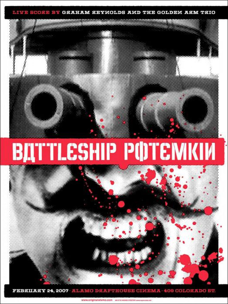 Battleship Potemkin by Serguei Eisenstein (18 x 24 in)