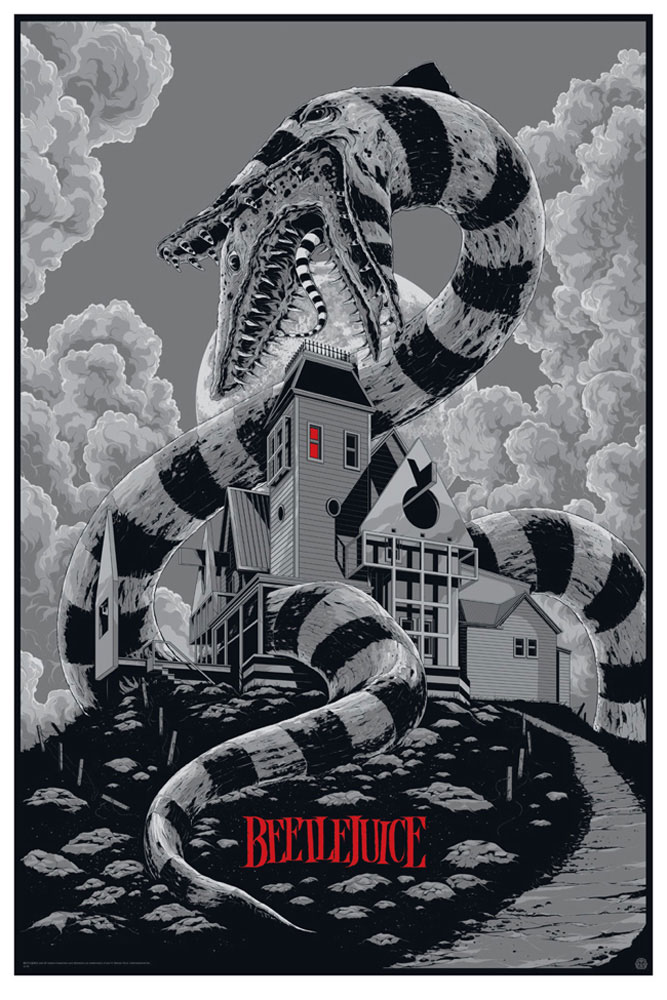 Beetlejuice - Variant by Tim Burton