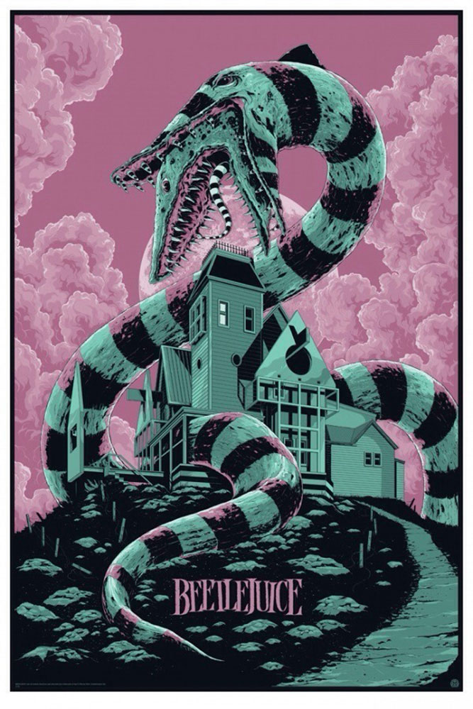 Beetlejuice - Regular by Tim Burton (24 x 36 in)