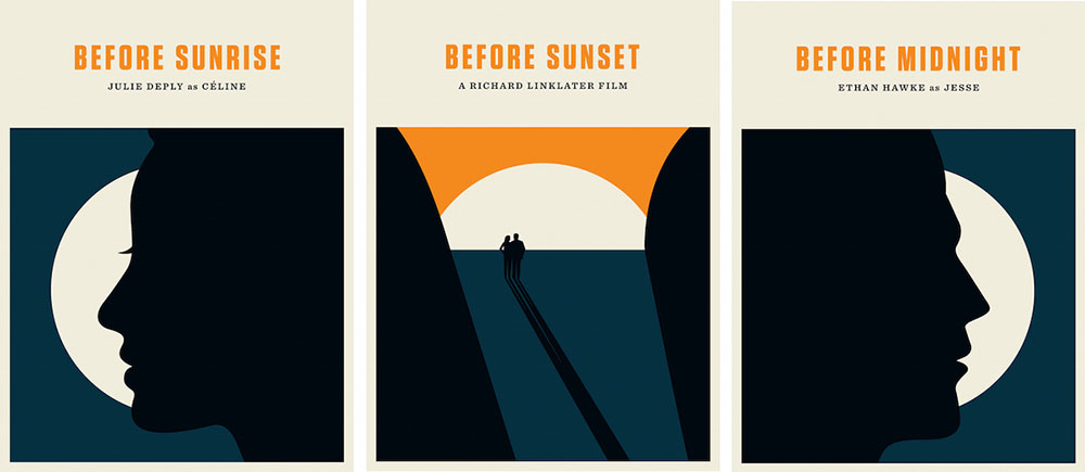 Before Trilogy (set Of 3 Prints) by Richard Linklater