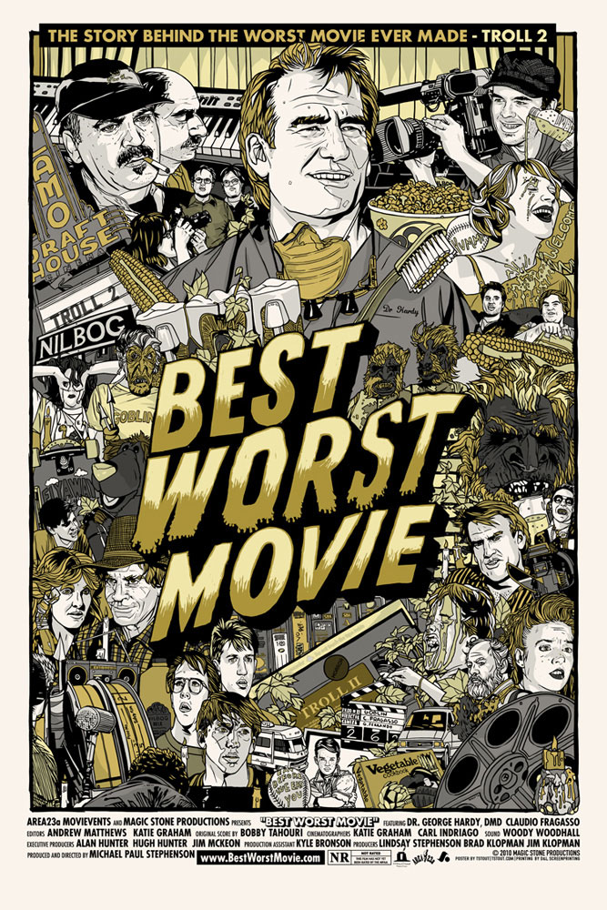 Best Worst Movie - Variant by - (24 x 36 in)