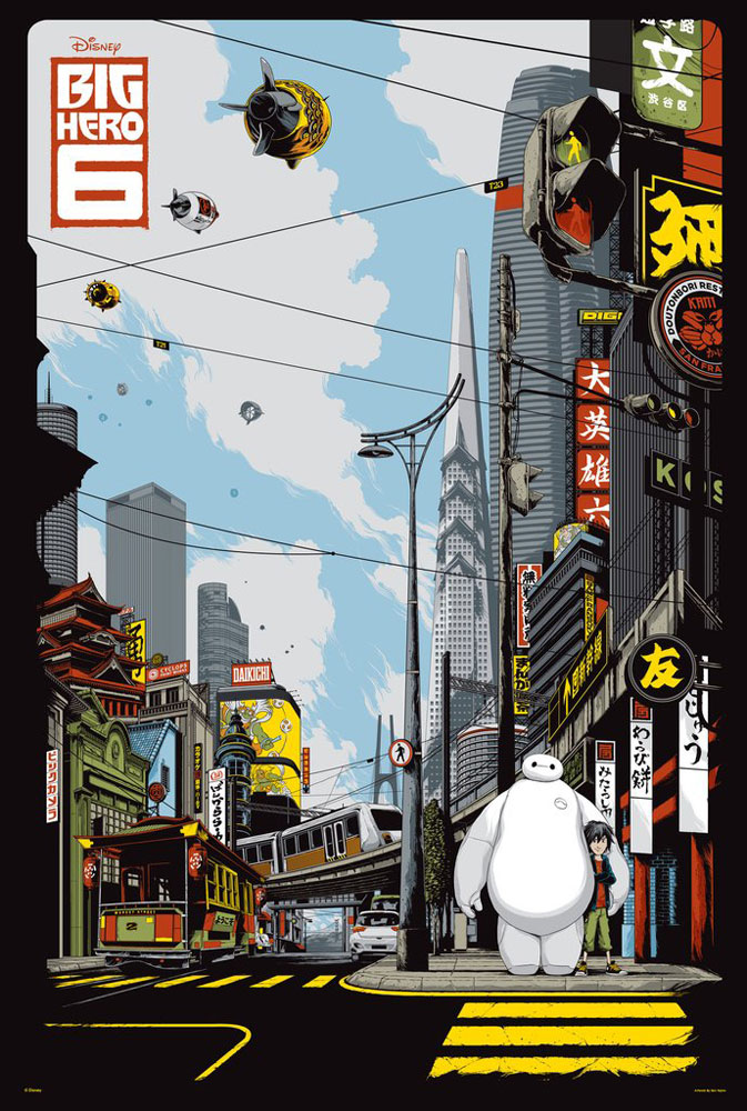 Big Hero 6 - Variant by Don Hall