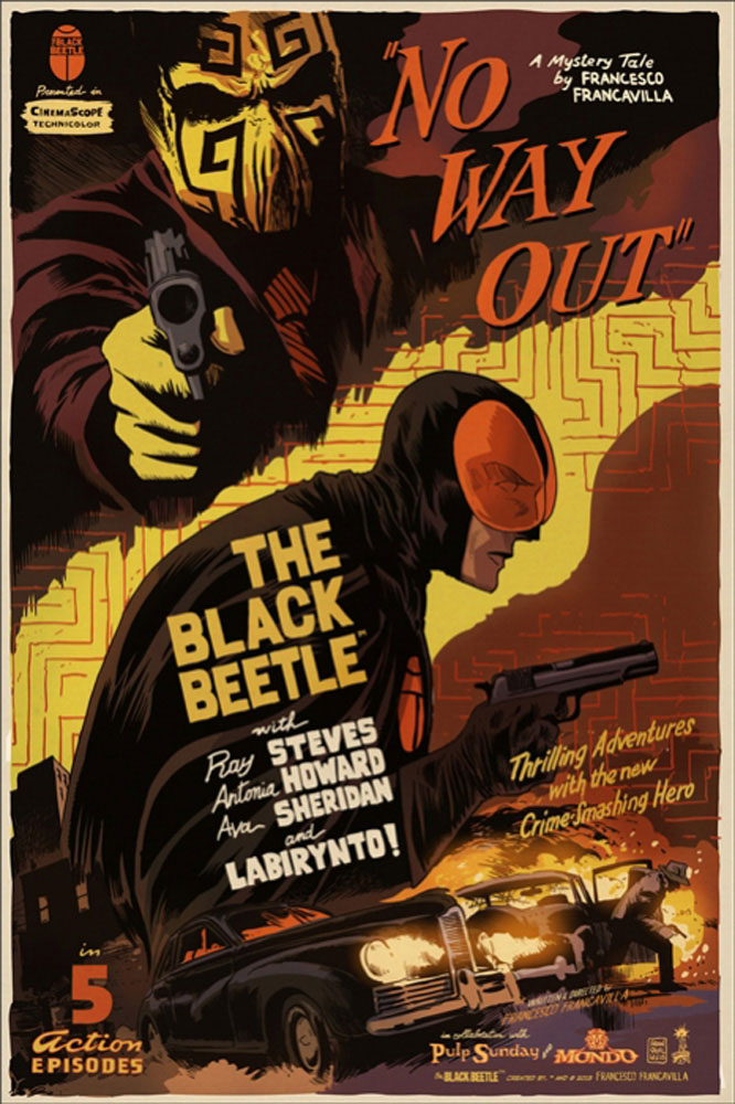 Black Beetle (the) - Variant by 2013 (24 x 36 in)