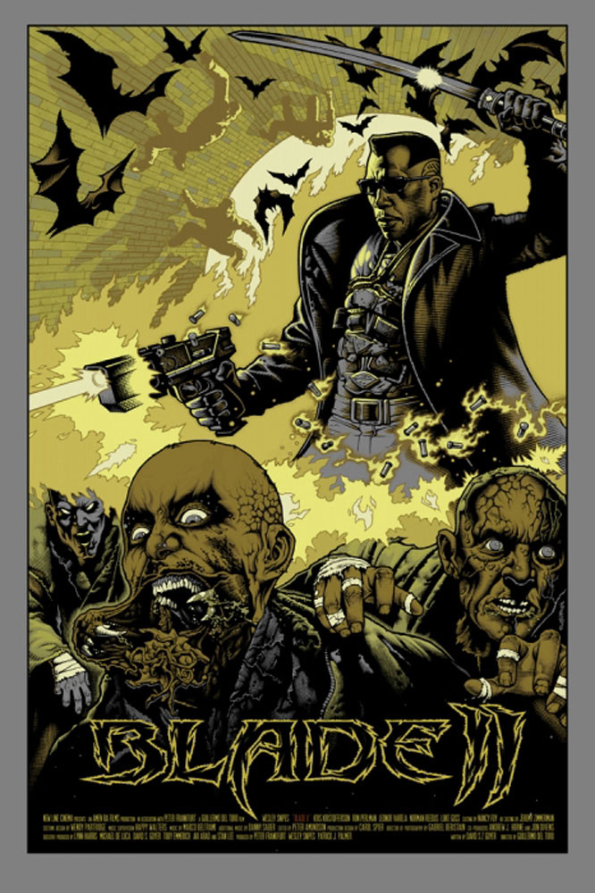 Blade 2 by Guillermo Del Toro (24 x 36 in)
