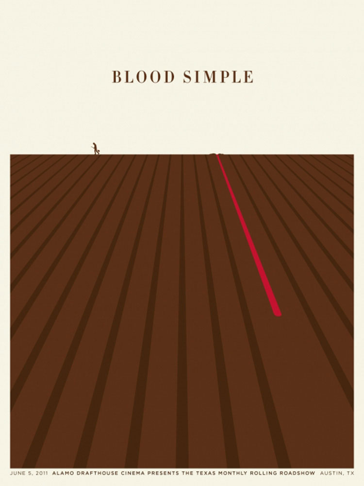 Blood Simple par Joel Coen (45 x 61 cm)