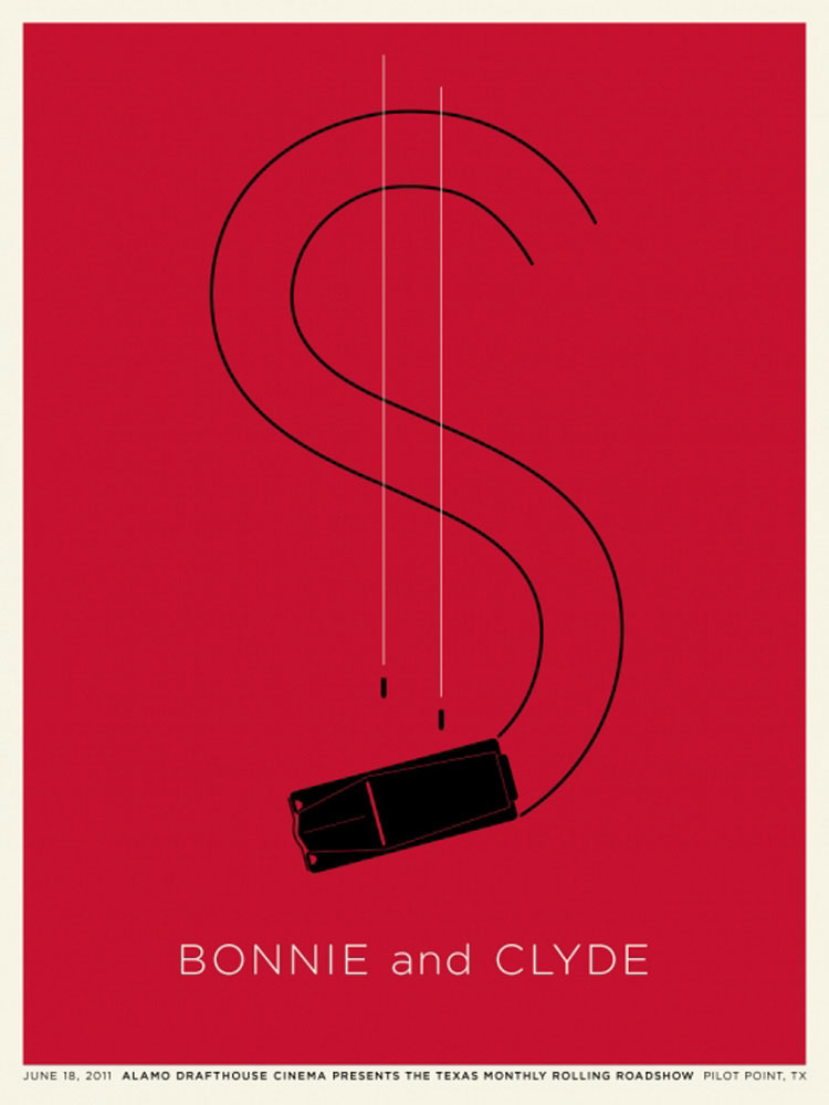 Bonnie And Clyde by Arthur Penn (18 x 24 in)