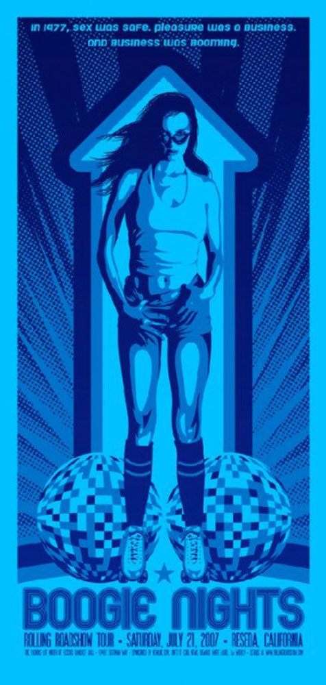 Boogie Nights - Variant par Paul Thomas Anderson (39 x 83 cm)