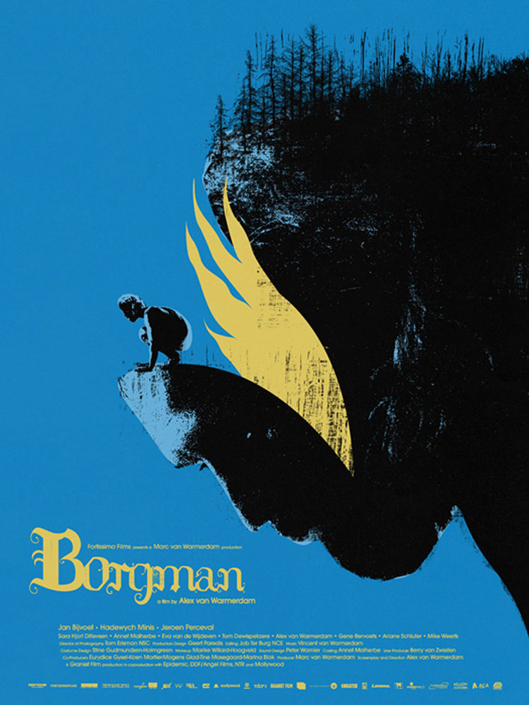 Borgman by Alex Van Wardmerdam (18 x 24 in)