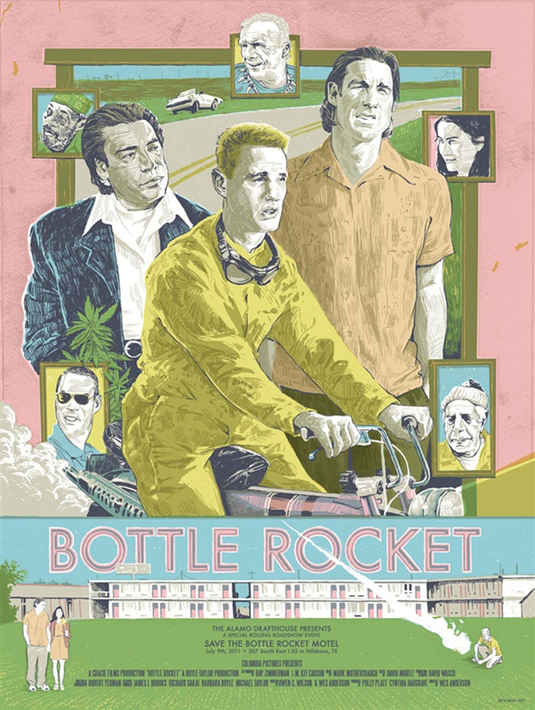 Bottle Rocket par Wes Anderson