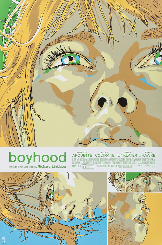 Boyhood par Richard Linklater (61 x 91 cm)
