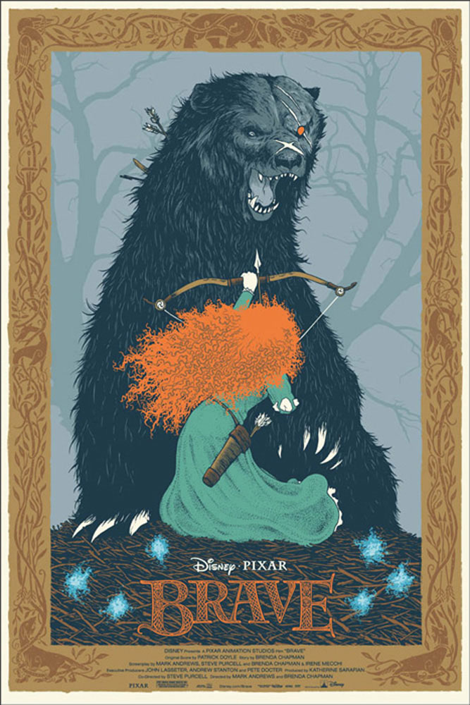 Brave by Walt Disney (24 x 36 in)