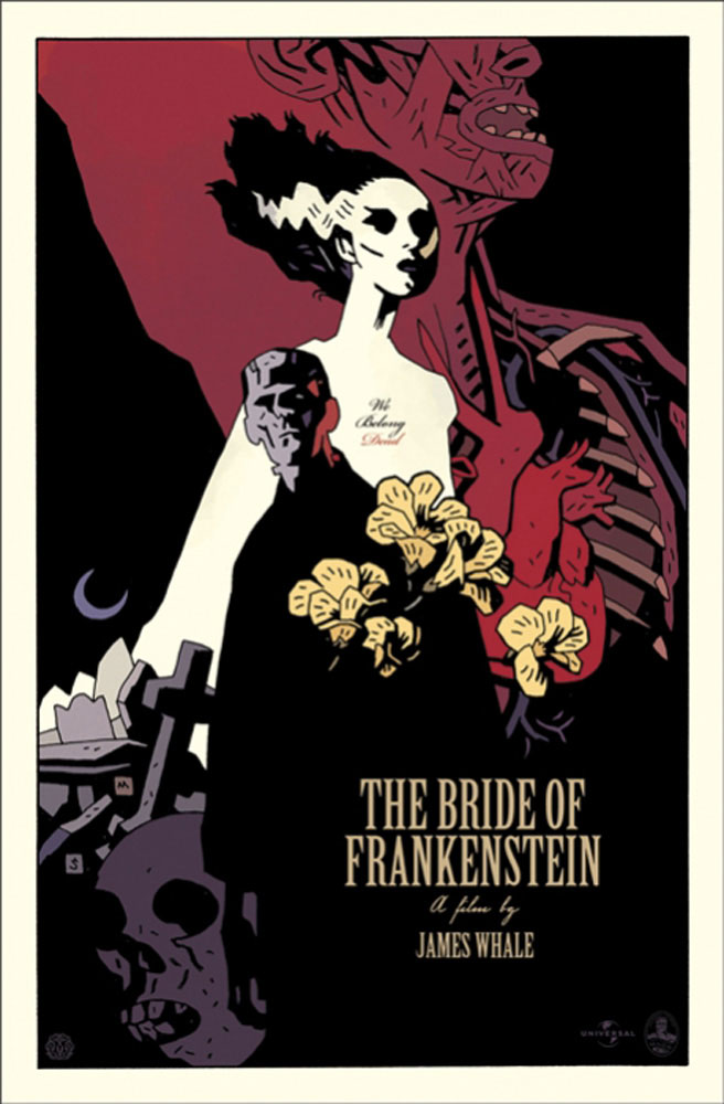 Bride Of Frankenstein (the) par James Whale (53 x 81 cm)