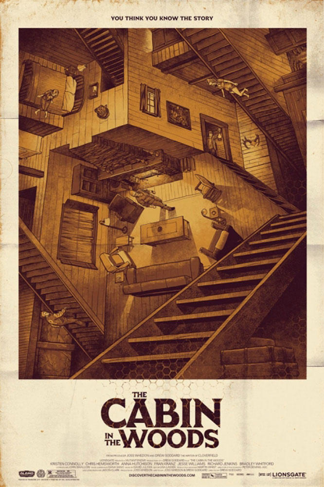 Cabin In The Woods (the) by Drew Goddard (24 x 36 in)