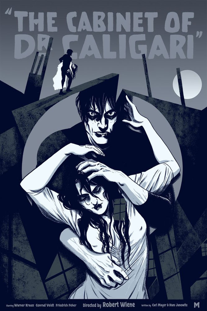 Cabinet Of Doctor Caligari (the) - Regular par Robert Wiene (45 x 61 cm)