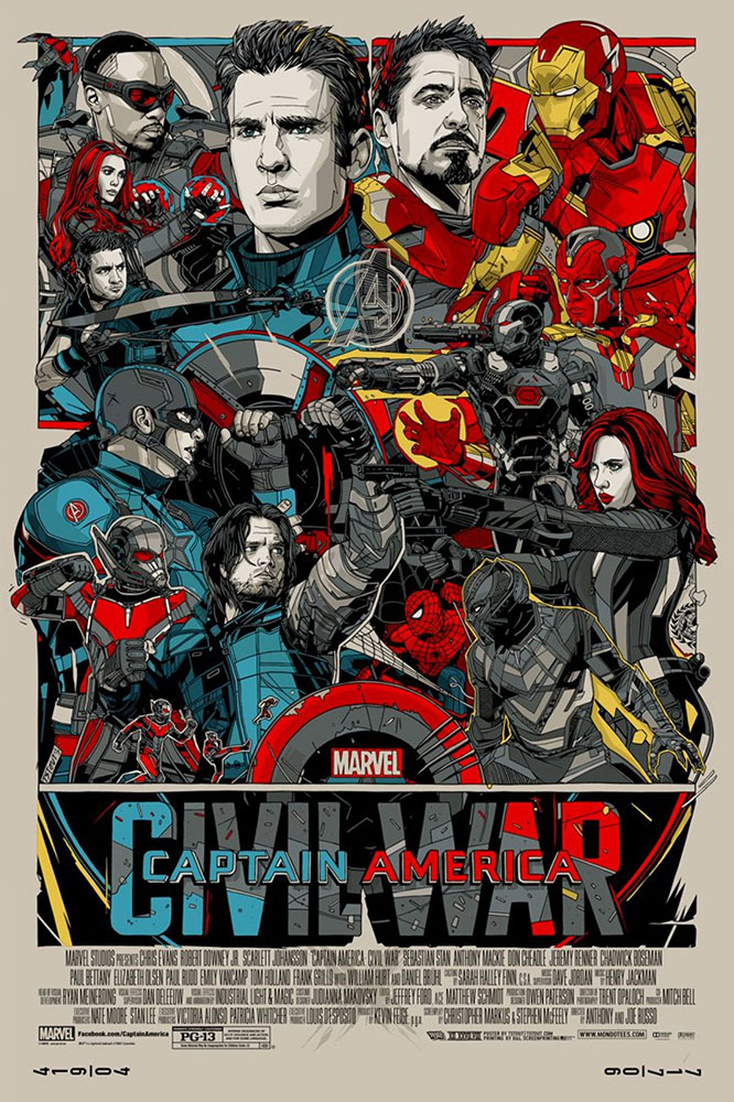 Captain America - Civil War - Regular par Joe Russo