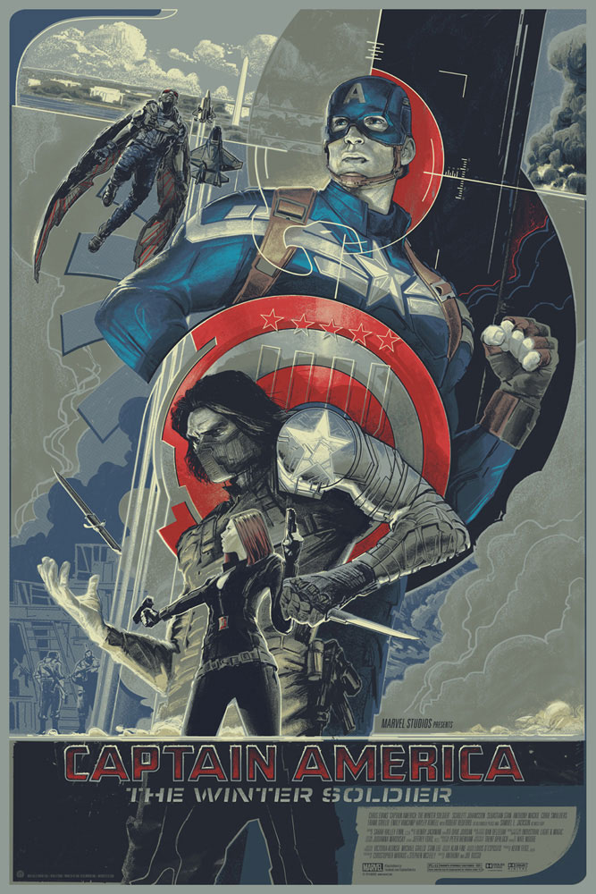 Captain America : The Winter Soldier - Regular par Anthony Russo (61 x 91 cm)