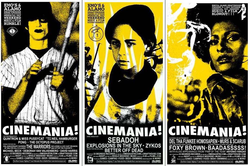 Cinemania (set Of 3 Prints) par Savage Steve Holland