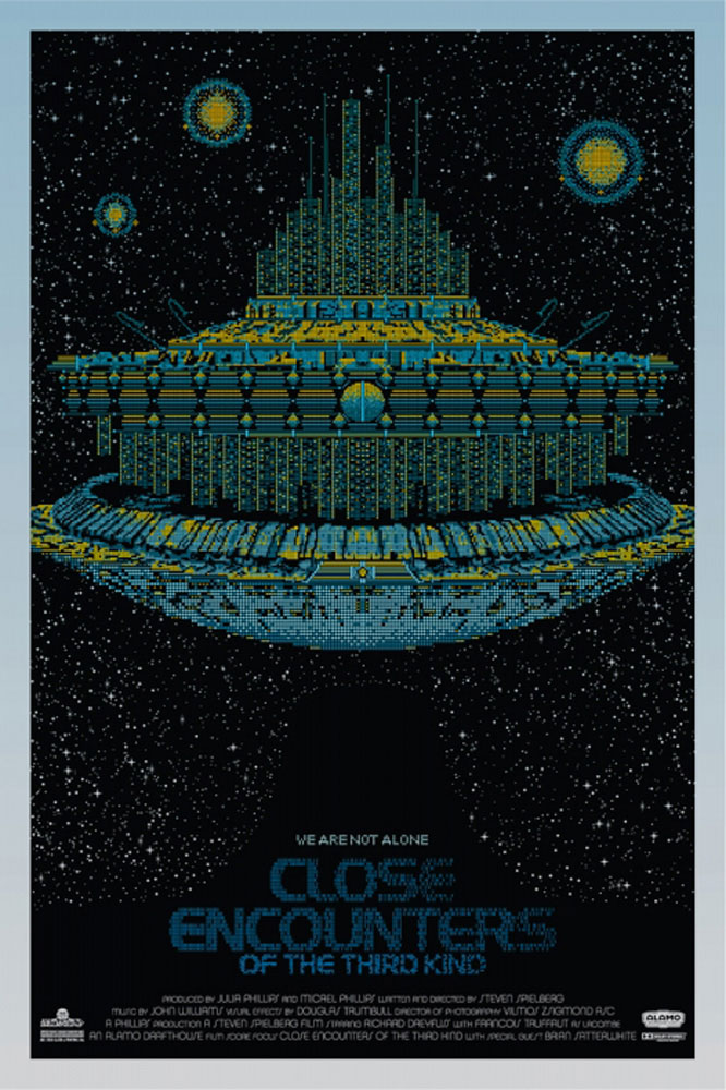 Close Encounters Of The Third Kind - Regular by Steven Spielberg (24 x 36 in)